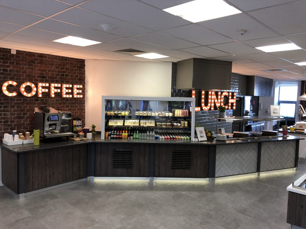 Commercial Design & Fit Out Contractor - canteen area