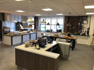 Refurbished Servery Canteen