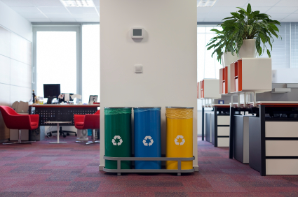 office recycling - how to make your office more sustainable